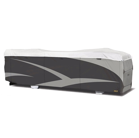 ADCO 34826 Class A Designer Series Tyvek Plus Wind RV Cover 34'1''-37' Questions & Answers