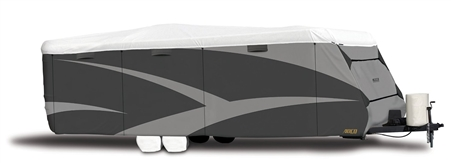ADCO 34838 Designer Series Tyvek Plus Wind Travel Trailer Cover - Up to 15' Questions & Answers