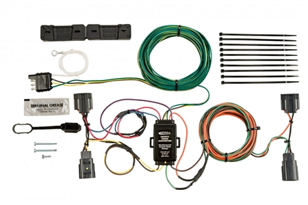 the package indicates that the Hopkins 56200 Jeep Wrangler/Renegade works with 2007-2015.
