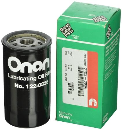 Onan 122-0836 HGJAA / HGJAB / HGJAC Oil Filter