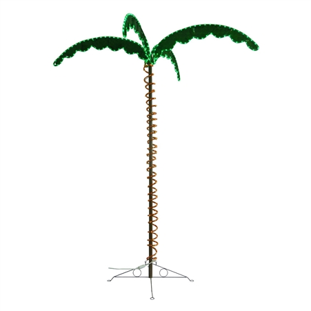 Mings Mark 8080104 Green & Yellow Led Palm Tree 7' Questions & Answers
