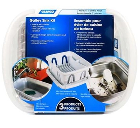 Camco 43517 RV Sink Kit - White Questions & Answers