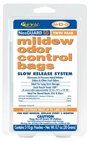 STAR BRITE 89950 NosGuard SG Mold/Mildew Odor Control Slow Release Questions & Answers