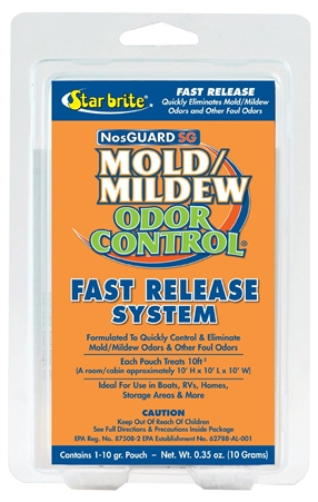 STAR BRITE 89970 NosGuard SG Mold/Mildew Odor Control Fast Release Questions & Answers
