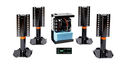Do you have the same leveling system, only electric, not hydraulic?