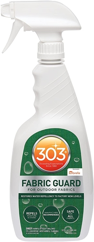 303 Products 30606 Fabric Guard Trigger Spray Cleaner - 32 Oz Questions & Answers