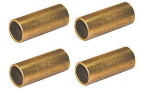"""Do these bushings (AP 014-126171) go into the """"eyes"""" of the leaf spring, replacing the usually nylon bushing ?"""