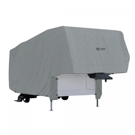 Classic Accessories 80-151-161001-00 PolyPro 1 5th Wheel Trailer Cover - 26'-29' Questions & Answers