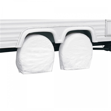 Classic Accessories 76260 RV Wheel Covers - 32''-34.5'' - White Questions & Answers