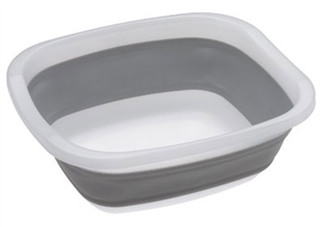 Progressive International CDT-1 Collapsible Tub, Grey