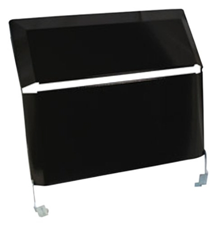 Suburban 2814A Slide-In, Bi-Fold Cover- Black