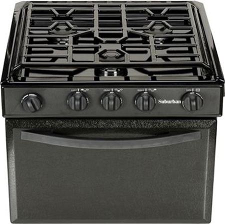 Suburban Manufacturing 3239A RV 17'' Spark Ignition 3-Burner Range- Porcelain Questions & Answers