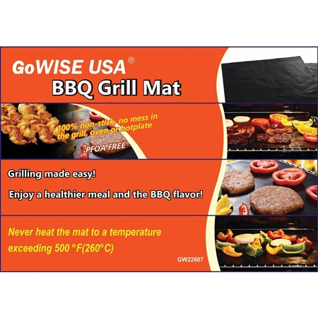 Ming's Mark GW22607 13'' x 15.75'' BBQ Grill Cooking Mat Questions & Answers