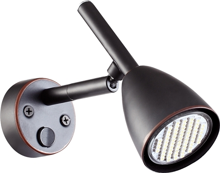 Ming's Mark 9090113 LED Wall Mount RV Reading Light- Bronze Questions & Answers
