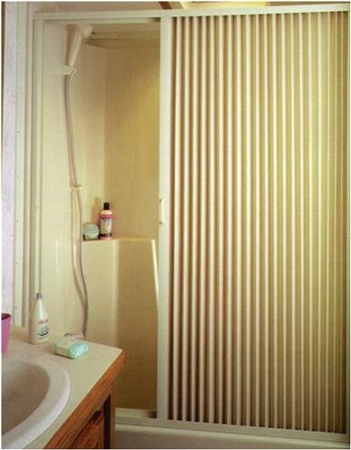 IRVINE 3667SI RV Pleated Shower Door 36''W x 67''H- Ivory Questions & Answers