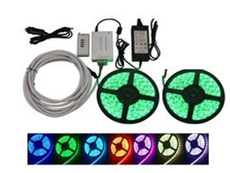 Ming's Mark 8080112 Multi-Color LED Light Strip- 16.4 Feet- Set Of 2