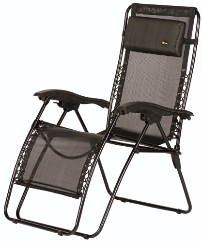 Faulkner 48962 Malibu Style Black Mesh Outdoor Recliner - Standard Questions & Answers
