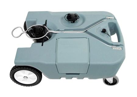 Tote-N-Stor 20122 Portable 4 Wheel RV Waste Tank - 18 Gallon