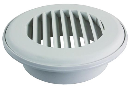 JR Products CG150PW-A Coolvent Snap-On Ceiling Vent- Polar White Questions & Answers