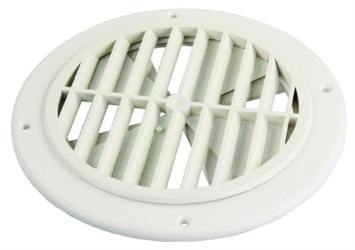 Thetford 94275 Rotating Ceiling Vent With Damper - Polar White