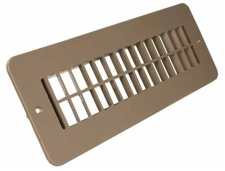 JR Products 288-86-A-TN-A RV Floor Register - Undampered - Tan Questions & Answers