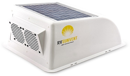Stoett STO-RVB100WH RV Sunvent Solar Powered RV Vent Cover Questions & Answers
