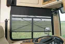 Carefree YR043ZD36L-RP 43'' Power SideVisor Window Shade - Left Side Questions & Answers