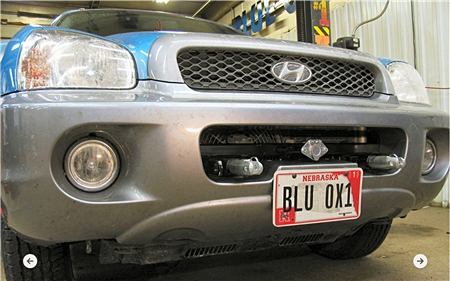 Blue Ox BX2322 For 2001 - 2006 Hyundai Santa Fe V6 Base Plate