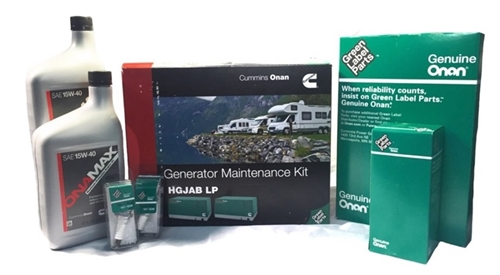 Onan A049E506 Generator Maintenance Kit For HGJAB LP Generators Questions & Answers