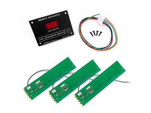 Garnet 709-RVC SeeLevel II 3 Tank Monitoring System with Alarm