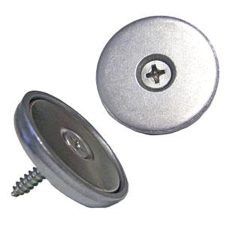 """Tyler Holdings PM2001LX40 Flush Mount 1"""" Magnetic Cabinet Latch"""