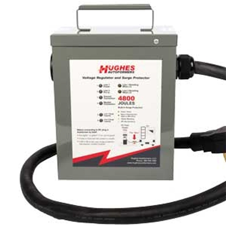 Hughes Autoformer RV220-50-SP 50 Amp Voltage Booster with Advanced Surge Protection