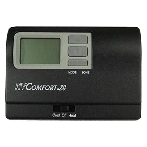 Coleman Mach 8330D3311 Zone Control 4 Stage Digital RV Thermostat - Black