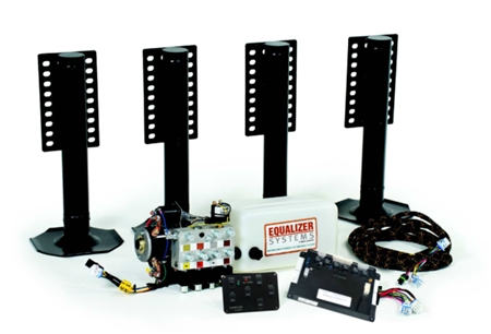Equalizer Systems 8073UPS Class C Level-Lite Manual Leveling System for 2010 or Newer Ford 450 & Chevy Chassis Questions & Answers
