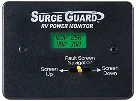 Surge Guard 40300 Remote Power Monitor LCD Display W/50' Cable