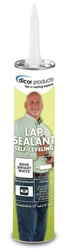 Dicor 501LSB Self-Leveling Lap Sealant - Black - 10.3 Oz