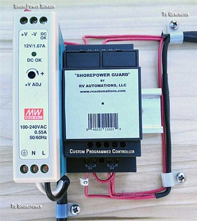 ShorePower Guard Emergency RV Generator Auto Start - Diesel Generators