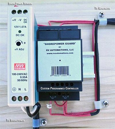 ShorePower Guard Emergency RV Generator Auto Start - Diesel