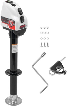 Bulldog 500200 Powered A-Frame Trailer Tongue Jack, 22'' Lift - 4,000 Lbs Questions & Answers