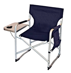 Prime Products SL1204-BLUE Director Chair - Navy Blue