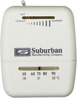 What thermostat to use with the Suburban furnace NT16SE?