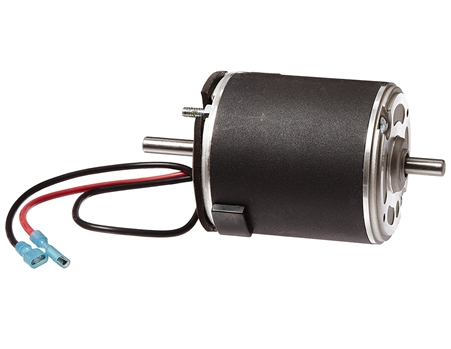 What are the dimensions of the motor housing?