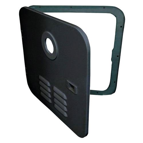 Girard 2GWHDB Tankless Water Heater Black Door/Flange Assembly -  Suburban 6 Gallon