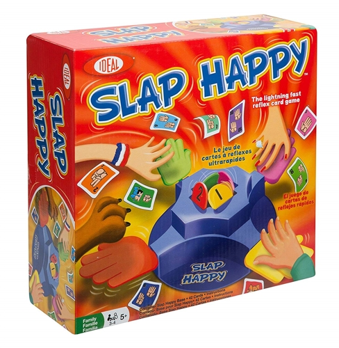 Poof Slinky 36500TL Slap Happy Tabletop Game Questions & Answers