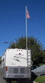 Flagpole Buddy 106alum16 Aluminum Pole Only - 16' Questions & Answers