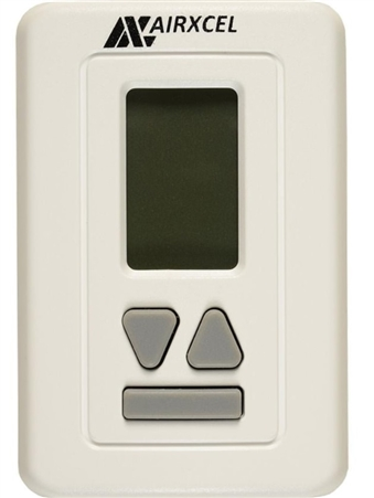 Coleman Mach 9630-3351 Digital RV Heat Pump Wall Thermostat - White