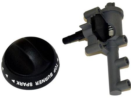 Suburban 521139 Piezo Igniter RV Stove Range Control Knob