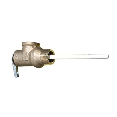 Suburban 161230 RV Water Heater Temperature and Pressure Relief Valve For SW/V Series