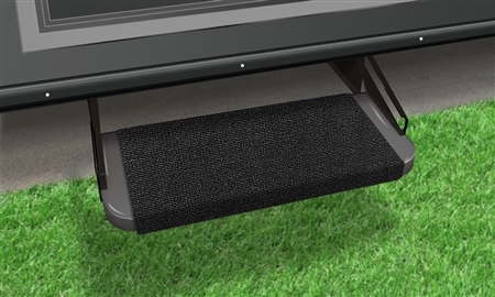 How are these step covers attached or fitted?