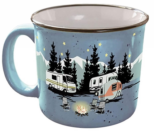 Camp Casual CC-004B Starry Night Camping Travel Mug Questions & Answers